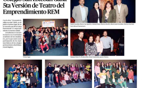 San Esteban gana 5ta Versión de Teatro del Emprendimiento REM
