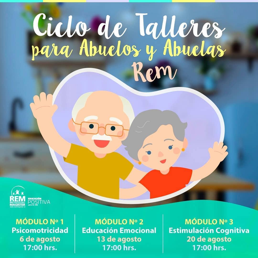 Ciclo de Talleres para Abuelos y Abuelas REM